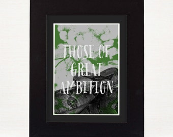 Harry Potter Slytherin Print