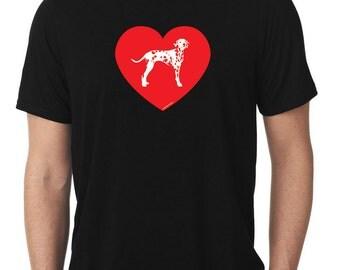 Love Dalmatian T-Shirt dal T853