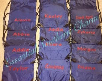 Monogram Drawstring Bag Gym Bag