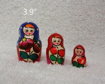 Wood Toys Nesting Dolls Stacking dolls Russian Matryoshka