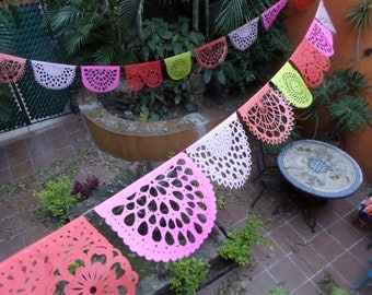 "PAPEL PICADO ""Coral Collection"" 