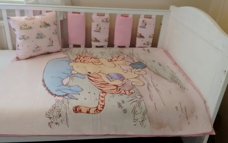 baby girls winnie the pooh bedding set classic winnie the pooh