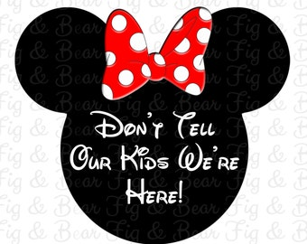 Disney Couples Shirts Mickey Mouse and Minnie Mouse Iron Ons Transfers Personalized FREE