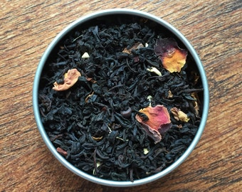 Weasley - Harry Potter Inspired Loose Leaf Tea Blend - Black Tea - Cherry - Cinnamon - Ginger - Chocolate Chip