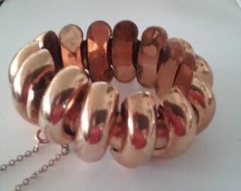 Vintage chunky bracelet 50s
