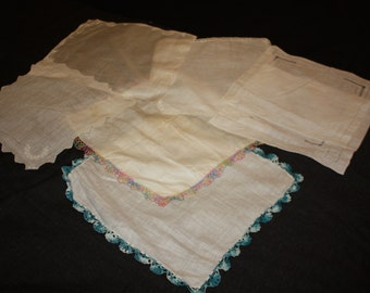 Handkerchiefs- Seven Varieties