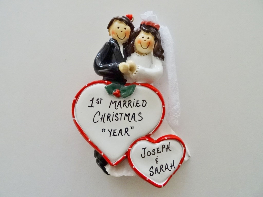 First Married Christmas Ornament-Our First Christmas As Mr.