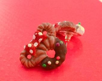 Mix & Match Earring- Minnie Donut