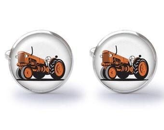 Tractor Cufflinks (Pair) Lifetime Guarentee