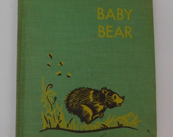 Baby Bear-1930's Story of a Bear in the Jungle of India by Hamilton Williamson