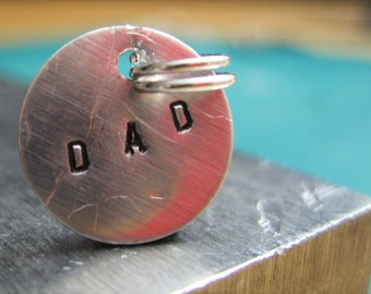 Personalized Father's Day Gift, Fathers Day Gift, Fathers Day Charm, Gift for Dad, Dad Gift Ideas, Gift for Him, Gifts for Him, Mens Gifts