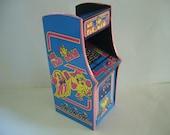 Ms. Pac Man  16th Scale Miniature Arcade Machine Model  12 inch scale barbie hot toys 6 scale