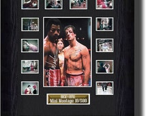 Rocky Filmcell Signed by Sylvester Stallone and  Carl Weathers (1976)