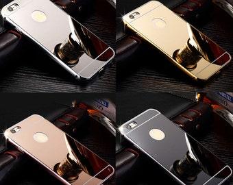 Premium Luxury Metal Mirror Case for iPhone 6/6s & iPhone 6/6s Plus