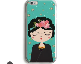Frida Kahlo Gift, Case Frida Kahlo, Feminist Case, Feminist iphone 6 Case, Frida Kahlo iPhone 6 Case,  gift frida kahlo, Mexican iPhone case