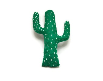 Felt Cactus Plush - Toy Cactus - Stuffed Cactus - Felt Plush Toy