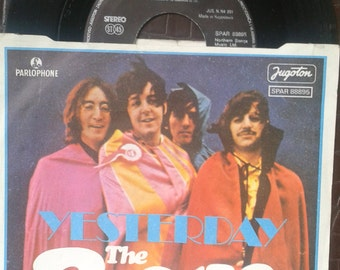 "The Beatles Yesterday - I Should Have Known Better 1976 Single 7"", 45 RPM ex Yugo Press"