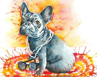 Tags by Trudy by TagsByTrudy on Etsy Get Well Soon French Bulldog