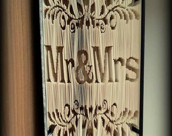 Mr & Mrs Book folding Pattern
