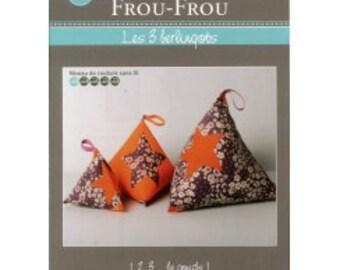 FCFF28 the 3 cartons - FROU FROU - creative card - tutorial