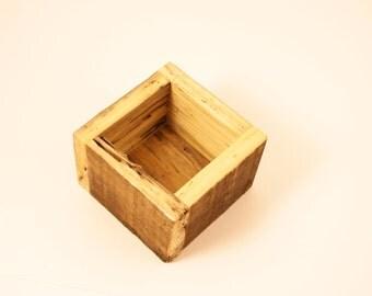 Planter - Succulent Planter, Reclaimed Wood, Gardener Gift