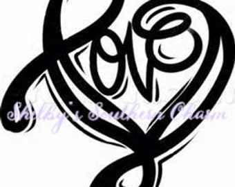 Love Heart SVG.EPS.DXF files