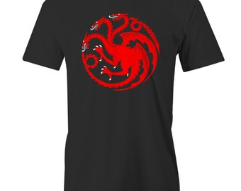 House Targaryen T-Shirt Game of Thrones Queen Daenerys Targaryen