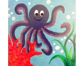 Octopus Canvas