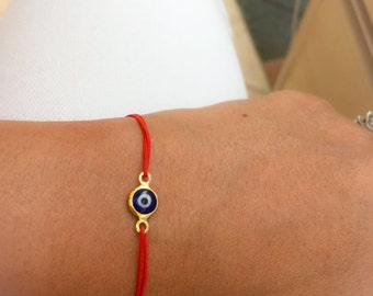 Evil Eye Red Bracelet. Red String Bracelet.Kabbalah Bracelet. Red Bracelet. Red Bracelet Evil Eye