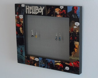 Hellboy Comic Book Earring Holder