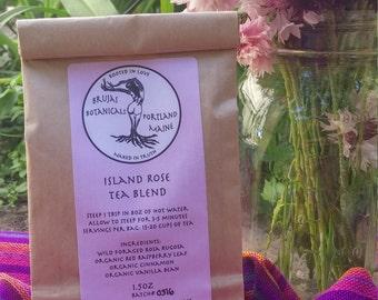 Island Rose Tea Blend 1.5oz