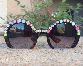 Sushi - semi-circle sunglasses
