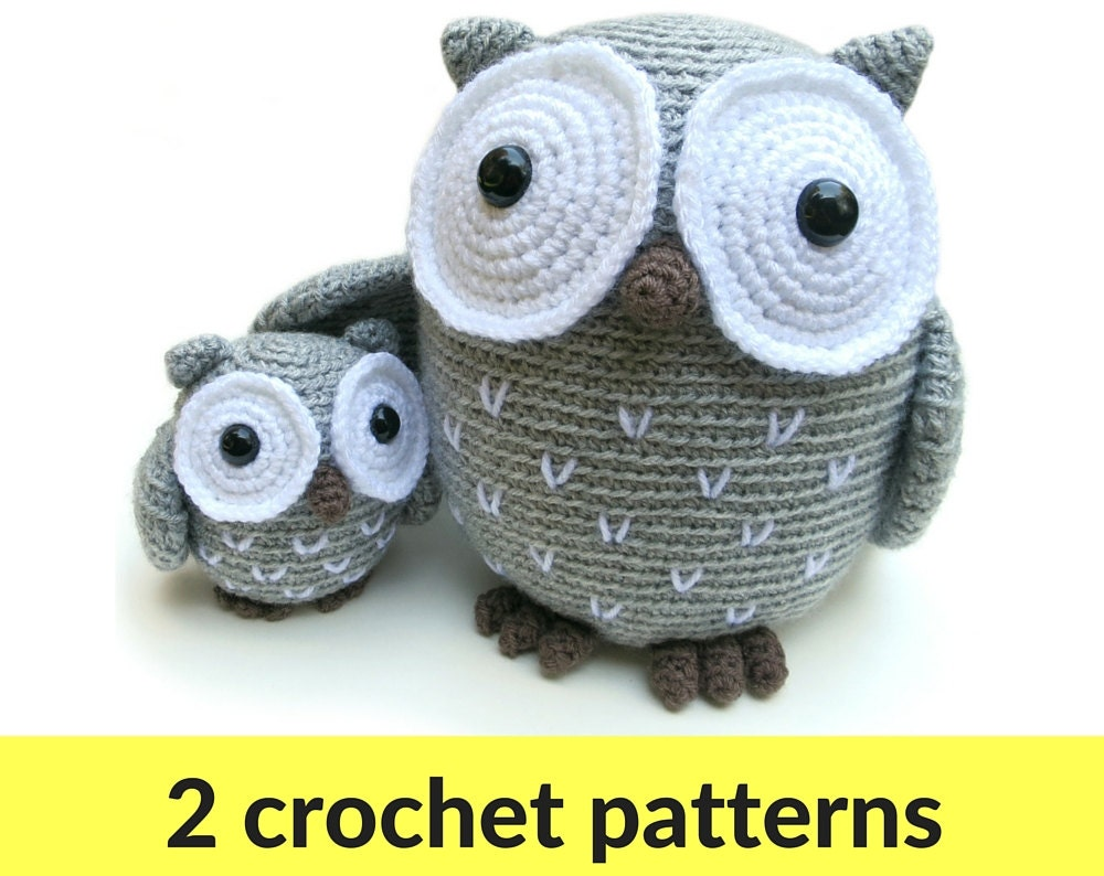 Owl amigurumi patterns owl stuffed animal crochet owl