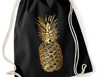 Turnbeutel Ananas