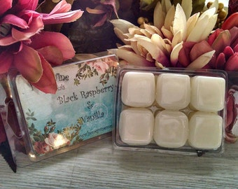 Black Raspberry Vanilla Soy Wax Tart Melt