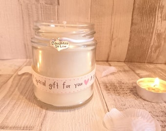 Daughter in Law (a special gift for you) Scented Candle