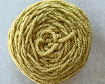 Scotch Broom Ball Plant-Dyed Yarn