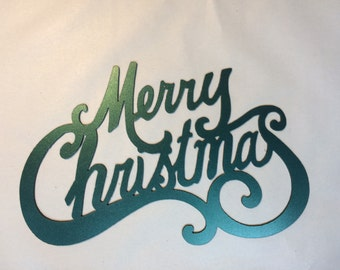 Merry Christmas Sign 14x9