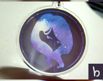 Galaxy Girls Arcylic Charms (earphone plug)