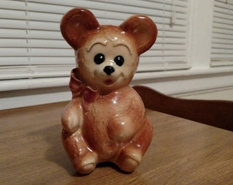 Teddy Bear Planter/Vase