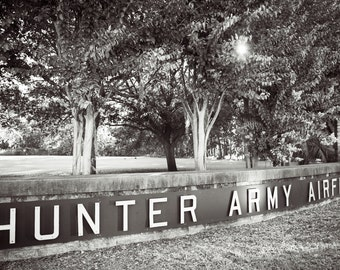 Photography, Military, Fine Art Print, Hunter Army Airfield