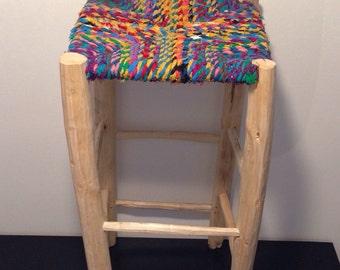 Boucharouette bar stool