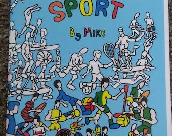 Colouring Sport, Colouring Book