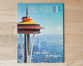 Space Needle book from the Seattle World's Fair