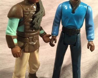 1980 1983 Star Wars Figure s (2) Lando Calrissian & Weequay Priority Mail