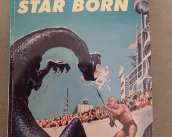 STAR BORN vintage book by Andre Norton science fiction 1957 Ace Book by The World Publishing Co.