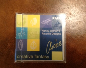 PFAFF Creative Fantasy Embroidery Card