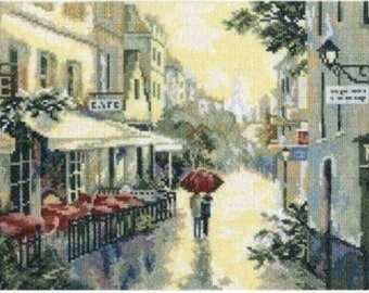 Cross Stitch Kit by RTO - After The Rain