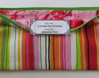 Persette #107 Personalized Zippered Organizing Pouch