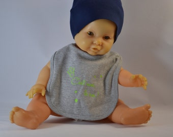 Gift baby bib child ' I the King '